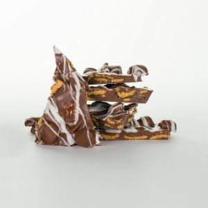 Chocolate Smores Bark Raw