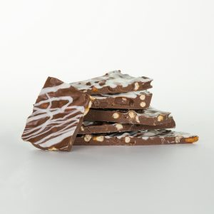 Milk Chocolate Pretzel Bark Raw